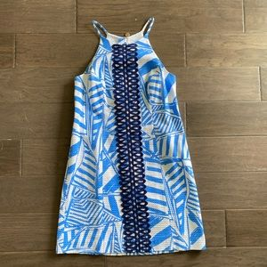 Lilly Annabelle Bay Blue Yacht Sea Shift Dress